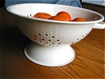 Graniteware Collander White