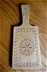 Vintage Wood Springerle Board