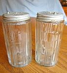 Vintage Hoosier Jar Pair