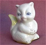 Squirrel Porcelain Figurine.