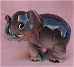 Vintage Elephant Porcelain Figurine