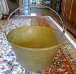 Antique Brass Bucket