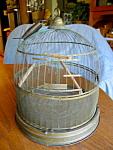 Hendryx Domed Brass Birdcage