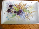 Artist Signed Porcelain Tray