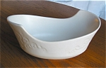 Hull White Dish Planter