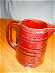 Hull Pottery Marcrest Pitcher