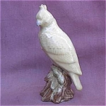 Vintage Pottery Bird Figurine Wonderful Glaze
