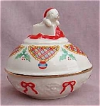 Lenox China 1994 Christmas Collector Egg