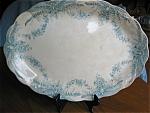 Antique Staffordshire Serving Platter