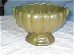 Vintage Green Urn Vase