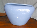 Zanesville Blue Vase