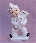 Genie With Horn Mini Japan Porcelain Figurine