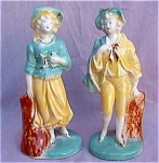 Standard Pottery Pr. Colonial Figurines