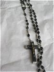 Vintage Ebony? Bead Rosary