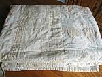 Vintage Hand Stitched Geometric Quilt