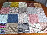 Vintage Handmade Crib Quilt