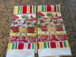 Vintage Startex Mills Mexi Towels
