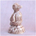 Wade Whimsie Duck Figurine Red Rose Tea