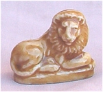 #1 Wade Whimsie Lion Figurine Red Rose Tea