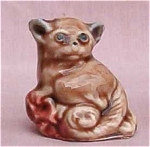 Wade Whimsie Bushbaby Figurine Red Rose Tea