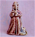 #2 Wade Whimsie Pied Piper Figurine Red Rose Tea