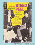 The Avengers 1968 John Steed Emma Peel Gold Key #1