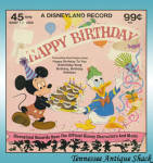 Happy Birthday Record 1975 Disney