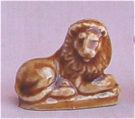 #4 Wade Whimsie Lion Figurine Red Rose Tea