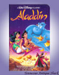 Aladdin Disney Vhs Black Diamond