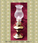 Miniature Hurricane Lamp