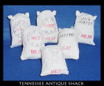 Miniature General Store Food Sacks
