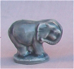 #2 Wade Whimsie Elephant Figurine Red Rose Tea