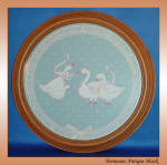 Country Geese Wall Decorative