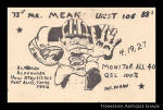 Fort Bliss Texas Vintage Qsl Card