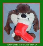 Taz Looney Tunes Christmas Beanie
