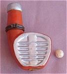 Golf Club & Ball Porcelain Hinged Box
