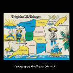 Vintage Trinidad And Tobago Postcard