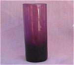 Retro Amethyst Glass Tall Cordial Liqueur