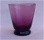 Retro Amethyst Glass Cordial Or Shot