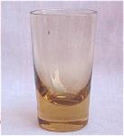 Retro Amber Glass Cordial