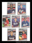 Chicago White Sox 1989 Fleer Baseball Cards 7 Pc