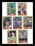 California Angels 1987 Topps Baseball Cards 7 Pc