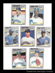 Seattle Mariners 1989 Fleer Baseball Cards 7 Pc