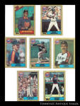 Houston Astros 1987 Topps Baseball Cards 7 Pc