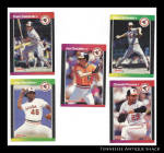 Baltimore Orioles 1988 Donruss Baseball Cards 5 Pc