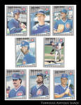 Chicago Cubs 1989 Fleer Baseball Cards 8 Pc