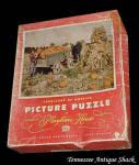 Vintage Playtime House Jigsaw Puzzle Indiana Harvest