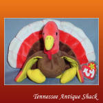 Ty Beanie Babies Gobbles The Turkey