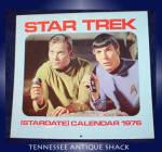 Vintage Star Trek 1976 Calendar
