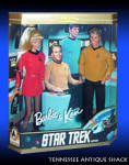 Barbie And Ken Dolls Star Trek 30th Anniversary